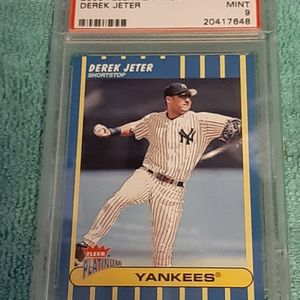 2003 Freer Platinum Derek Jeter N Y Yankees PSA 9 for Sale in Kissimmee, FL