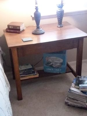 $50 - Antique Library Table / Desk for Sale in Apple Valley, CA