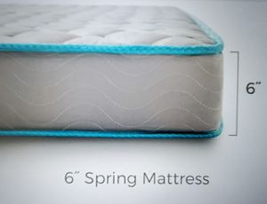 Linenspa 6 inch Innerspring Mattress-Queen for Sale in NO POTOMAC, MD