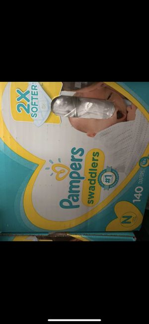 Pampers swaddlers size newborn for Sale in Phoenix, AZ