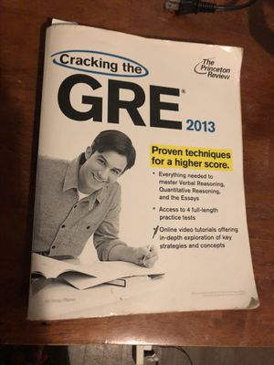 GRE study book for Sale in Washington, DC