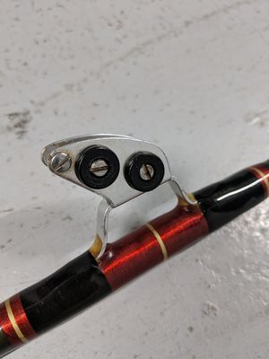 """Penn Senator 6'6"""" Stand Up Conventional Boat Fishing Rod. Stuart Roller & Tip. Excellent. for Sale in Miami, FL"""