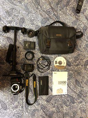 Nikon D3100 Camera Kit for Sale in Winston-Salem, NC