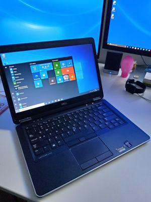 Dell laptop E7440 intel core 5 wondow 10 professional for Sale in Rancho Cucamonga, CA