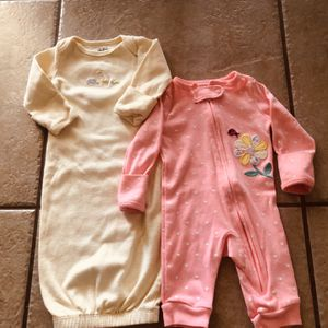 Carters newborn - yellow Noah's Ark / pink Vibrant flower for Sale in Phoenix, AZ