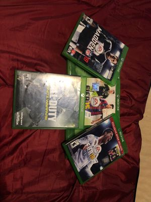 Xbox one games for Sale in Klamath Falls, OR