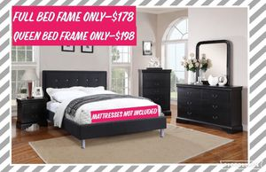Full and Queen Bed Frame for Sale in Claremont, CA
