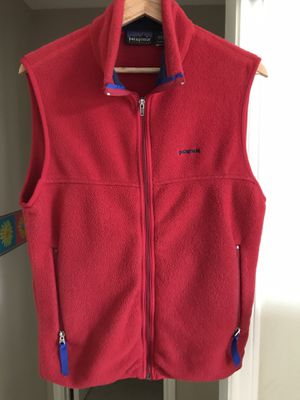 Men's vintage Patagonia Synchilla vest Small for Sale in Sugar Land, TX