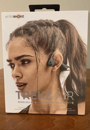 NEW! (AFTERSHOKZ) ***Trekz Air Titanium Wireless Bone Conduction Headphones*** (Unisex) for Sale in Cookeville, TN