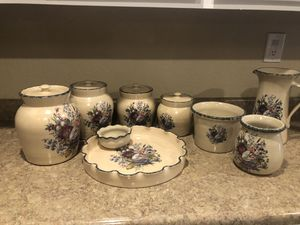 Home and Garden Party crock set for Sale in Glendale, AZ