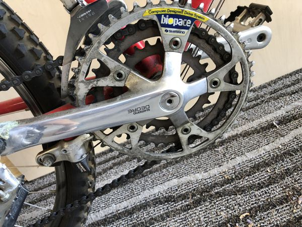 Specialized stump jumper mountain bike
