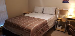 Queen Bed and metal frame for Sale in Hillsboro, OR
