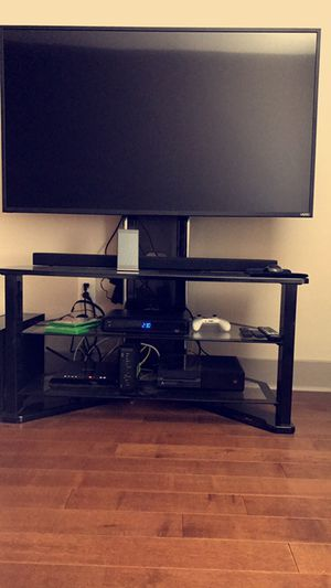 Black TV stand! for Sale in San Diego, CA