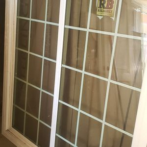 57x70 New Windos Retrofit, No Screen, Has Little Dent, No Affect To Open The Windos for Sale in Loma Linda, CA