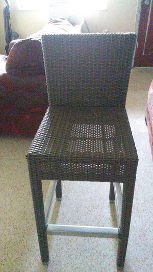 Wicker like Bar stool for Sale in Miami, FL