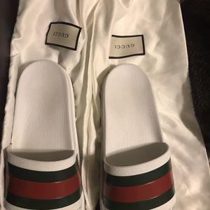 Gucci Web slide sandal for Sale in Chesapeake, VA
