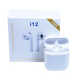 """""""ON SALE"""" Brand new - i12 TWS Bluetooth 5.0 Earphones Headphones Earbuds - white color for Sale in Sharon, MA"""