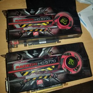 2 Radeon HD 5770 Graphics Cards for Sale in Milton, FL