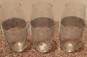 3 Tall Glass Vases for Sale in Bloomington, IL