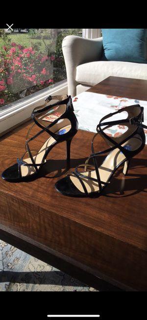 Michael Kors stappy black heels for Sale in Houston, TX
