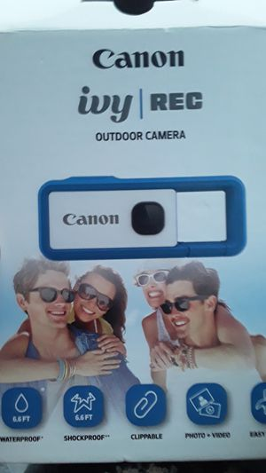 Apparel canon outdoor camera for Sale in TX, US