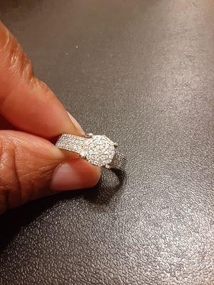 14K White Gold Ring size 9 for Sale in Novato, CA