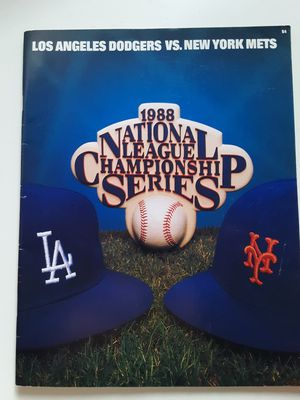 1988 NL Champ series program for Sale in Los Angeles, CA