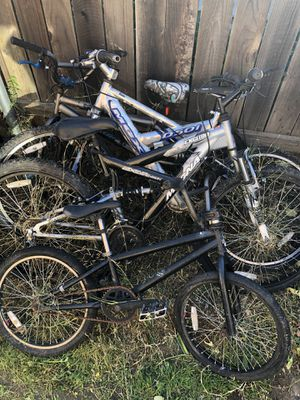 Bike parts (all non working) for Sale in Carmichael, CA
