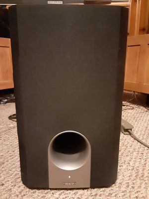 Onkyo Powered Subwoofer for Sale in Maple Heights, OH