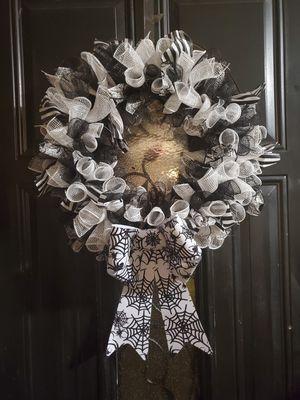 Halloween wreath for Sale in Mesquite, TX