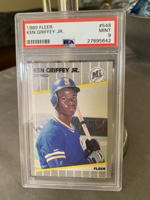 1989 Fleer Ken Griffey Jr R/C PSA 9 for Sale in Raynham, MA