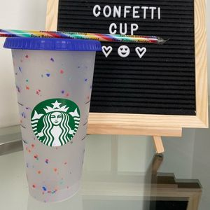 CONFETTI COLOR CHANGING CUP for Sale in Phoenix, AZ
