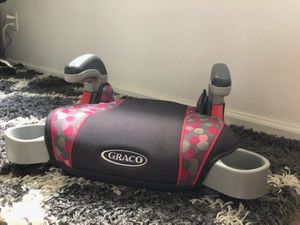 Graco Booster Seat with cup holders for Sale in Alpharetta, GA