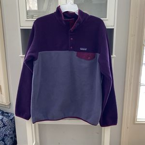 Patagonia Purple Pullover Jacket Lg for Sale in Overland Park, KS