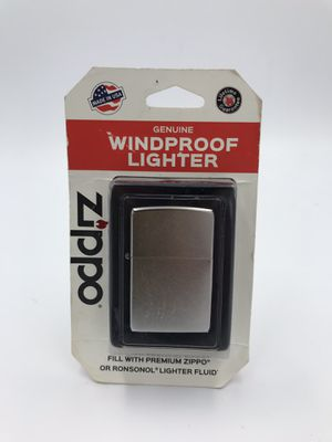 New Classic ZIPPO Silver Stainless Steel Lighter USA for Sale in Alameda, CA