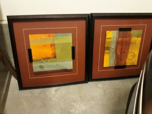 """Two 30"""" Southwestern Acrylic Pictures for Sale in Irvine, CA"""