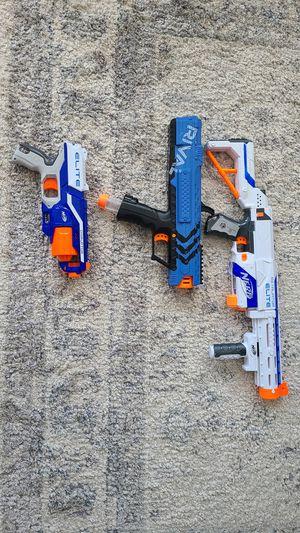 Nerf guns for sale for Sale in Ashburn, VA