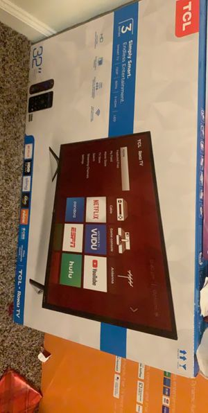 """32"""" TCL Roku TV for Sale in Raleigh, NC"""