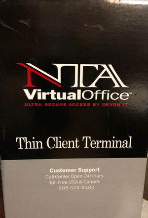 NTA Virtual office terminal a must for your at home professionals for Sale in Sterling, KS