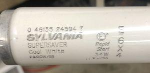 Sylvania Super Saver Cool White 34 watt—8 bulbs for sale for Sale in Roanoke, IL