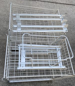 3 Cabinet Sliding Pull Out Organizer for Sale in Riverview, FL