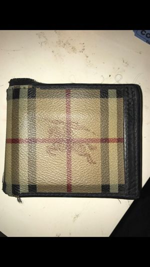 100% Authentic Burberry Wallet for Sale in Severn, MD