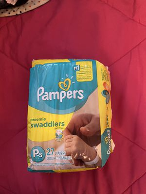 New 1 pc Preemie swaddlers 27 Diapers for Sale in Winter Haven, FL