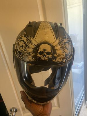 Special offer for only two days $ 35 for a icon size M Motorcycle helmet for Sale in Mesa, AZ
