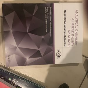 Analytical Chemistry Study Book for Sale in Hialeah, FL