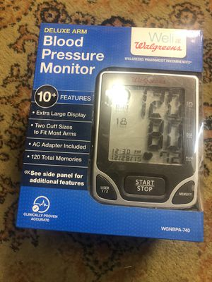 Blood pressure monitor for Sale in Portland, OR