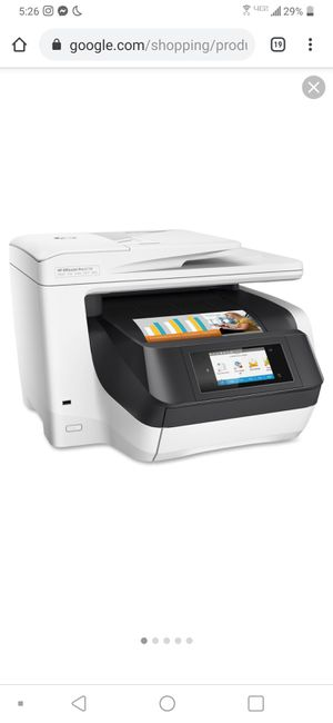 HP 8730 Office Jet All in One Printer scanner fax copier for Sale in Annapolis, MD