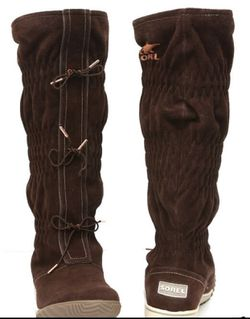 Women's Waterproof Suede Sorel Boots for Sale in Washington,  DC
