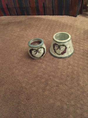 Heavy candle holder with removable top for Sale in Nashville, TN