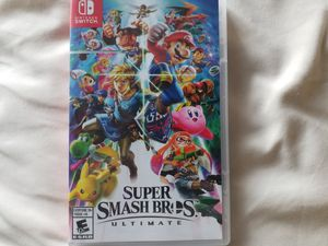 Nintendo Switch! Super smash bros! Like new! for Sale in Grand Terrace, CA